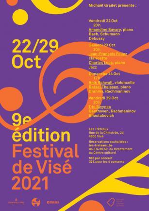Affiche Festival de Visé Octobre 2021