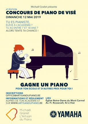 Concours de piano de Visé - 6ème édition