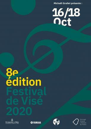 Affiche Festival de Visé Octobre 2020